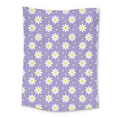 Daisy Dots Violet Medium Tapestry