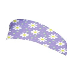 Daisy Dots Violet Stretchable Headband