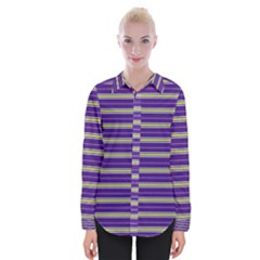 Color Line 1 Womens Long Sleeve Shirt