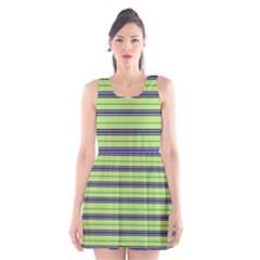 Color Line 2 Scoop Neck Skater Dress