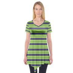 Color Line 2 Short Sleeve Tunic