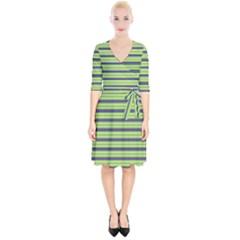 Color Line 2 Wrap Up Cocktail Dress