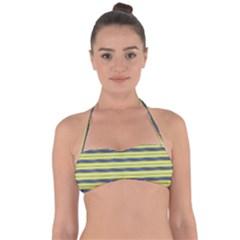 Color Line 3 Halter Bandeau Bikini Top