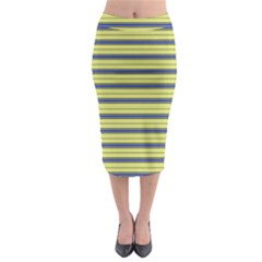 Color Line 3 Midi Pencil Skirt