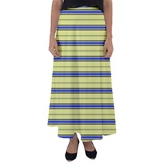Color Line 3 Flared Maxi Skirt
