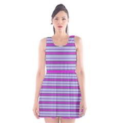 Color Line 4 Scoop Neck Skater Dress