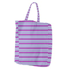 Color Line 4 Giant Grocery Zipper Tote