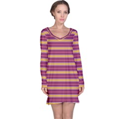 Color Line 5 Long Sleeve Nightdress