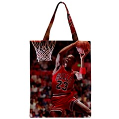 Michael Jordan Zipper Classic Tote Bag