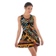 City Scape Cotton Racerback Dress