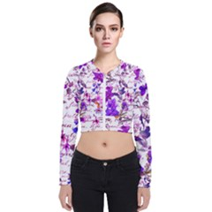 Ultra Violet,shabby Chic,flowers,floral,vintage,typography,beautiful Feminine,girly,pink,purple Bomber Jacket