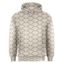 Gold,white,art Deco,vintage,shell Pattern,asian Pattern,elegant,chic,beautiful Men s Overhead Hoodie
