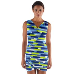 Fast Capsules 5 Wrap Front Bodycon Dress