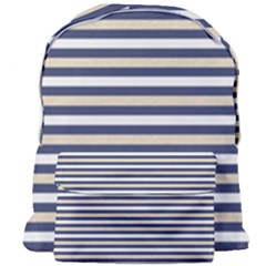 Royal Gold Classic Stripes Giant Full Print Backpack