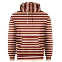 Gold And Wine Men s Pullover Hoodie