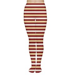 Gold And Wine Women s Tights