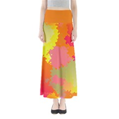 Microwaves  Full Length Maxi Skirt