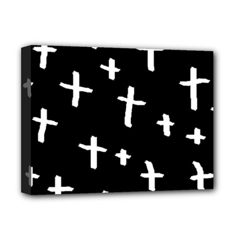 White Cross Deluxe Canvas 16  X 12