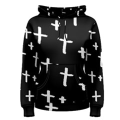 White Cross Women s Pullover Hoodie