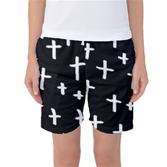 White Cross Women s Basketball Shorts
