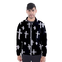White Cross Wind Breaker (men)