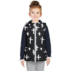 White Cross Kid s Puffer Vest