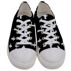 White Cross Women s Low Top Canvas Sneakers