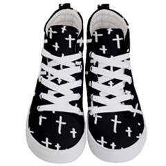 White Cross Kid s Hi Top Skate Sneakers