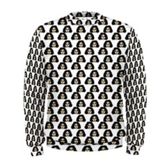 Angry Girl Pattern Men s Sweatshirt