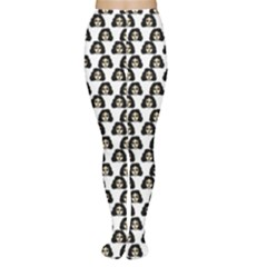 Angry Girl Pattern Women s Tights