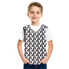 Angry Girl Pattern Kids  Sportswear