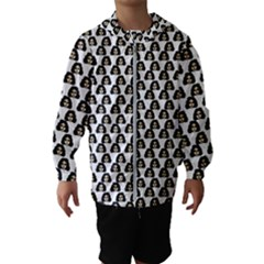 Angry Girl Pattern Hooded Wind Breaker (kids)