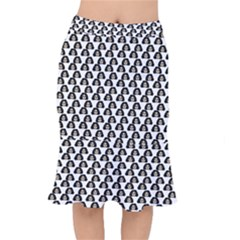 Angry Girl Pattern Mermaid Skirt