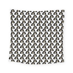 Angry Girl Pattern Square Tapestry (small)