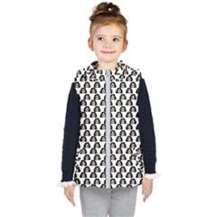 Angry Girl Pattern Kid s Puffer Vest