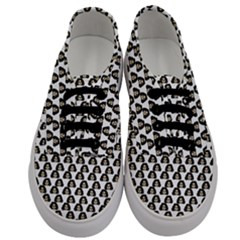 Angry Girl Pattern Men s Classic Low Top Sneakers