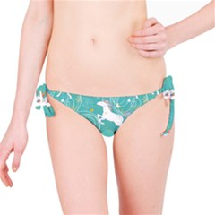 Magical Flying Unicorn Pattern Bikini Bottom