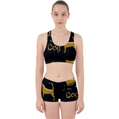 Year Of The Dog   Chinese New Year Work It Out Sports Bra Set
