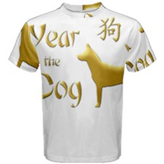 Year Of The Dog   Chinese New Year Men s Cotton Tee