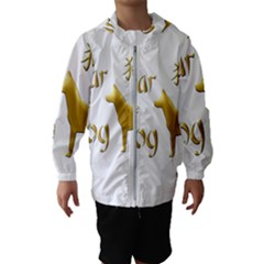 Year Of The Dog   Chinese New Year Hooded Wind Breaker (kids)