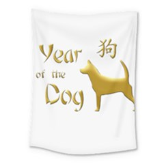 Year Of The Dog   Chinese New Year Medium Tapestry