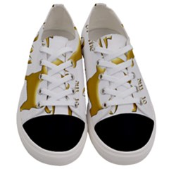 Year Of The Dog   Chinese New Year Women s Low Top Canvas Sneakers