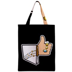 Elvis   Like Zipper Classic Tote Bag