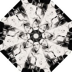 Elvis Presley Folding Umbrellas