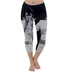 Elvis Presley Capri Winter Leggings