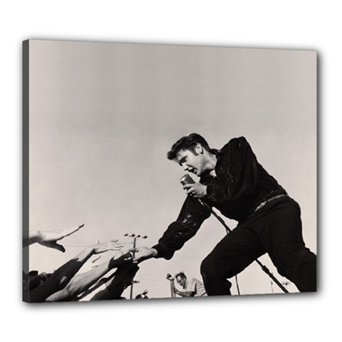 Elvis Presley Canvas 24  X 20