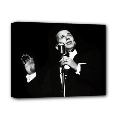 Frank Sinatra  Deluxe Canvas 14  X 11