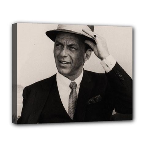 Frank Sinatra  Deluxe Canvas 20  X 16
