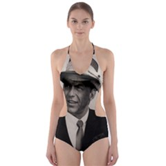 Frank Sinatra  Cut Out One Piece Swimsuit