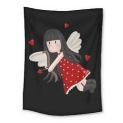 Cupid Girl Medium Tapestry
